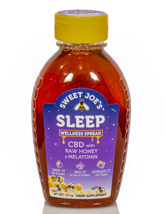 Sleep CBD Honey Squeeze Bottle
