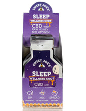Load image into Gallery viewer, Sleep CBD Honey Wellness Shots Box