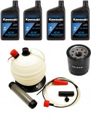 Oil Change Kit For Kawasaki 4 Stroke Jet Skis