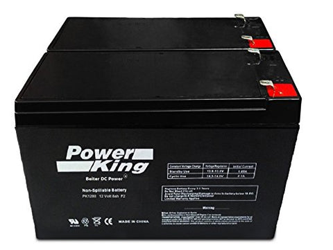 12V 8Ah Sla Battery Replaces Ep1234W - Beiter Dc Power