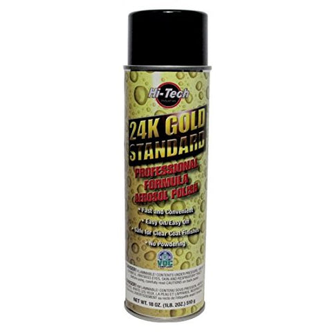 Hi Tech Industries 24K Gold Standard Cleaner Wax