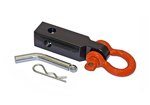 Enhanced Tow Strap Shackle Mount (Tsm-125-D) For 1-1/4  Receivers - Made In U.S.A.