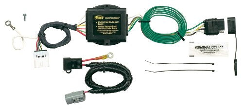 hopkins 11142355 plug-in simple vehicle to trailer wiring kit