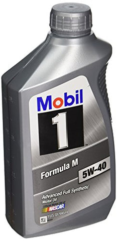 Mobil 1-Case 5W-40 Formula M Motor Oil - 1 Quart Bottle