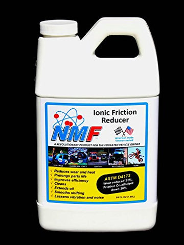 Nmf Ionic Friction Reducer, 16 Engines (64 Oz)