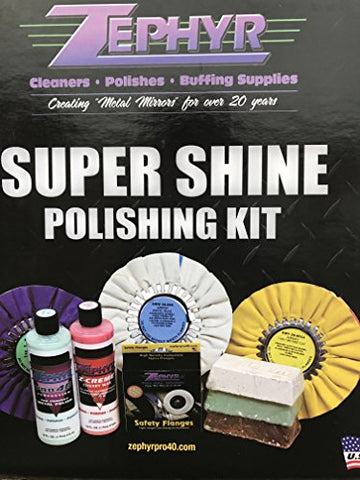 Zephyr Super Shine X Polishing Kit 8