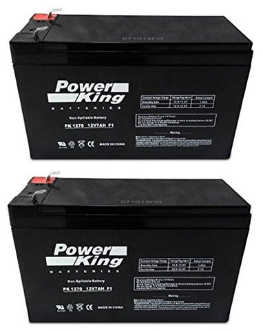 12V 7Ah Sla Battery Replaces Gp1272 Np7-12 Bp7-12 Npw36-12 Ps-1270 Ub1280 - Beiter Dc Power
