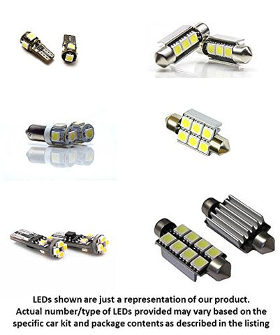 21Pc Mercedes Benz W212 E-Class E350 E550 E63 Amg Led Lights Interior Package Kit 2009 2010 2011 2012 2013