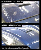 Vvivid Clear Paint Protection Bulk Vinyl Wrap Film 12  X 72  Including 3M Squeegee And Black Felt Applicator