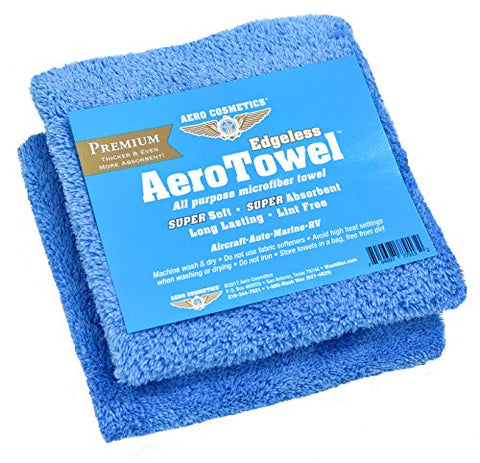 Premium Edgeless Microfiber Towels  Super Soft, Super Absorbent, Long Lasting, Lint Free For Waterless Car Wash And Wet Washing!