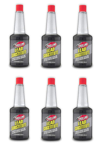 Red Line 60202 Set Of 6 Lead Substitute 12-Ounce Bottles