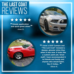 The Last Coat Car Polish Set - Liquid Coating Protection Premium Microfiber Towels & Sprayers Included - Paint Care & Repair For Car Or Any Surface Use