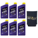Royal Purple 01316 Rp004 Set Of 6 Max-Cycle Motorcycle And Atv 20W-50 Oil 1-Quart Bottles And Koozie