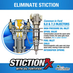 Opti-Lube Stiction Rx Oil Additive For 6.0 And 7.3 Powerstrokes: 1 Pint (16Oz)