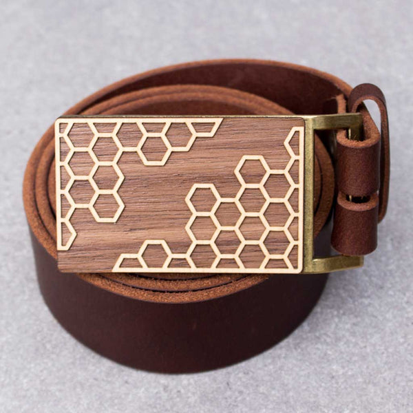 Honeycomb Belt Buckle