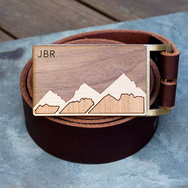 Mountain Belt Buckle