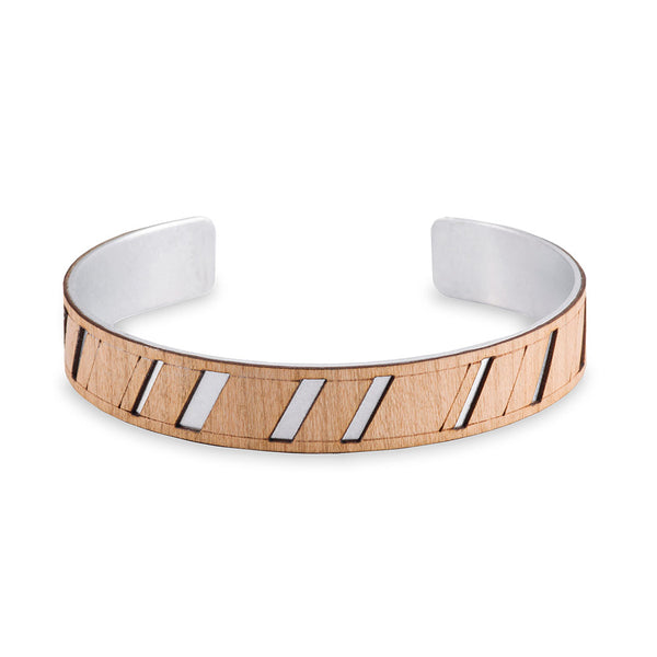 Diagonal Thin Cuff
