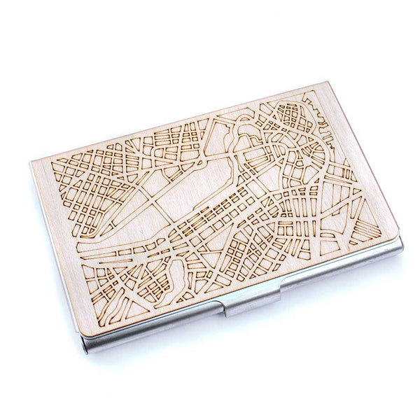 Boston Map Card Case