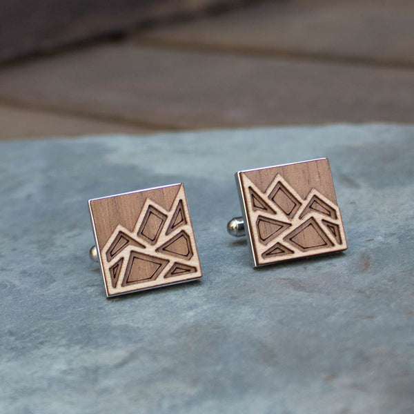 Mountain Cufflinks