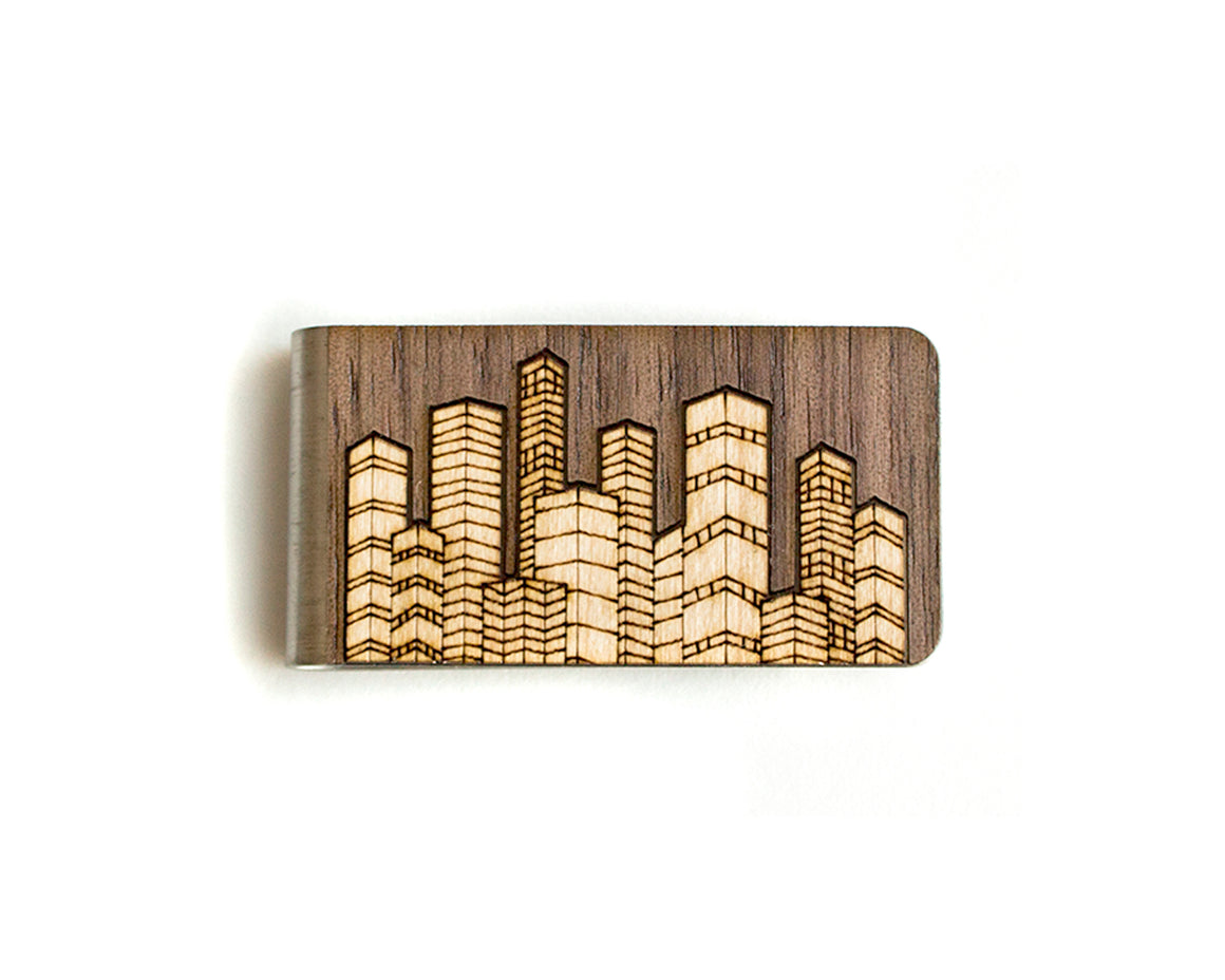 Money Clip - Skyline