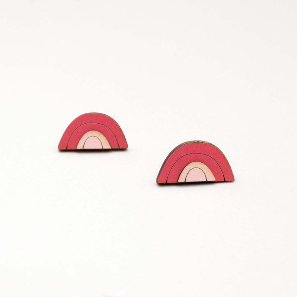 Horizon Stud Earrings