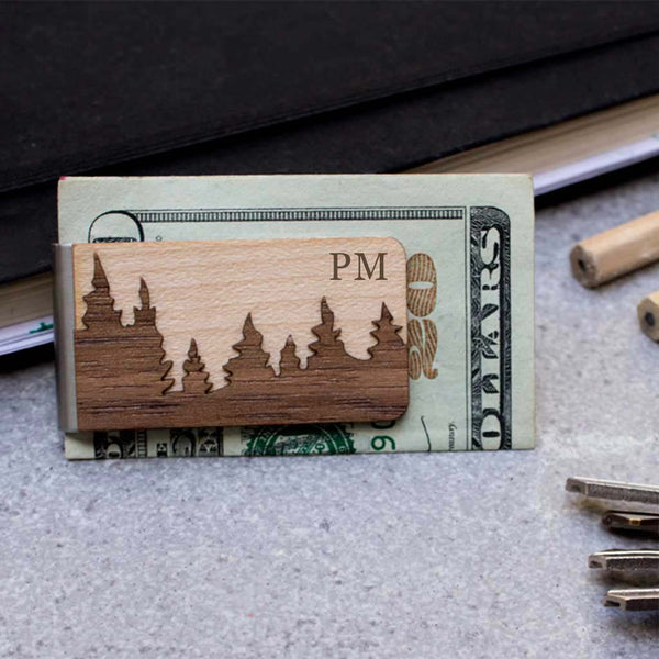 Forest Money Clip