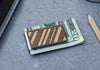Diagonal Lines Money Clip