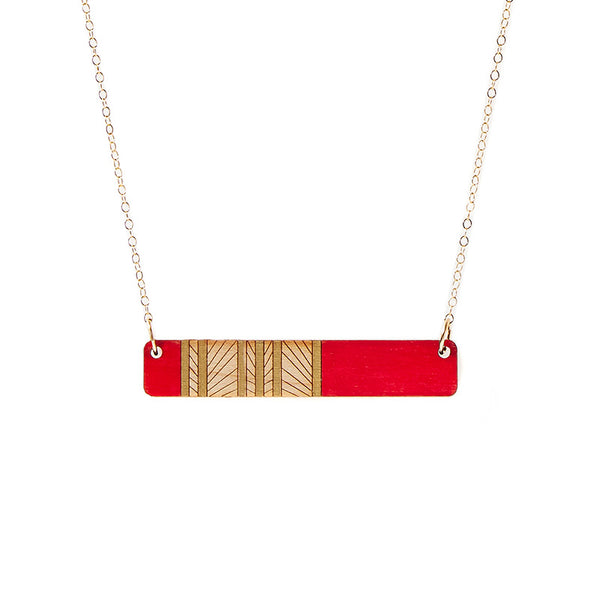 Lines Medium Necklace