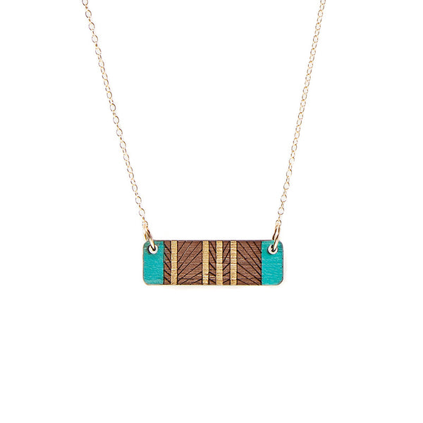 Lines Short Necklace
