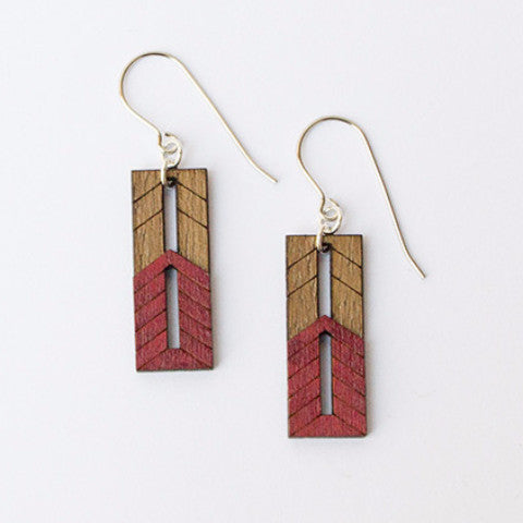 FLW NL-1715 Old Fashion Window Earrings