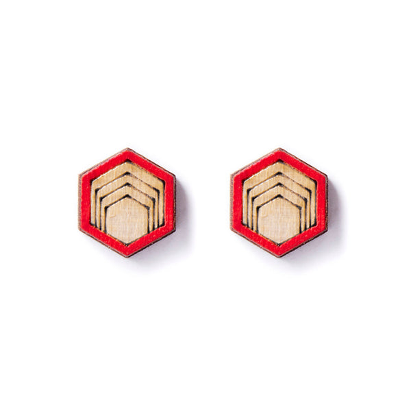 Tribal Stud Earrings