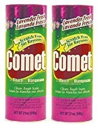 e5e7bfddab9f Comet Cleaner With Bleach Powder Lavender Fresh 21-Ounces   Scratch-Free