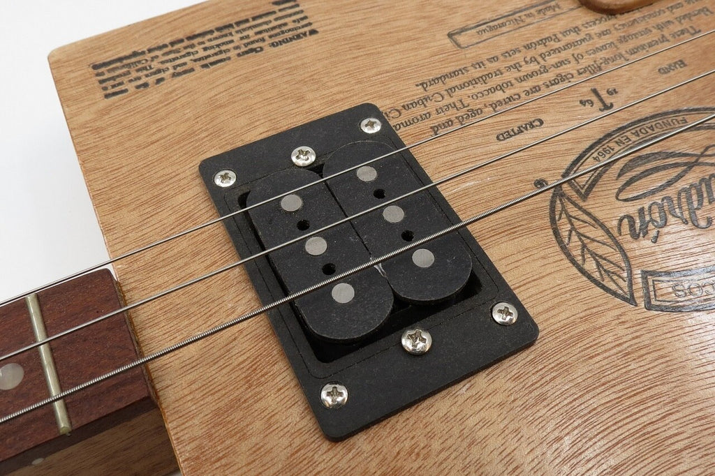 Prewired 3-String Humbucker CBG Black Tone/Volume/Jack