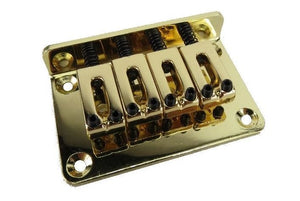 4-String Adjustable Gold Bridge