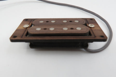 Image of Prewired 4-String Humbucker CBG Rosewood Tone/Volume/Jack