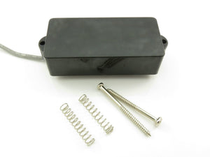 4-Pole Single Coil Pickup Enclosed Black