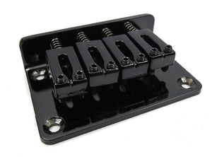 4-String Adjustable Black Bridge