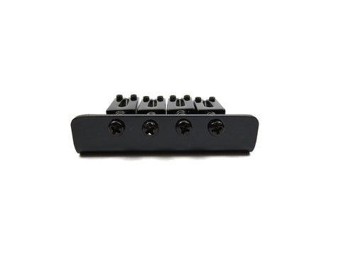 Image of 4-String Adjustable Black Bridge