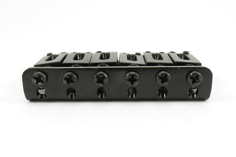 Image of 6-String Adjustable Black Bridge