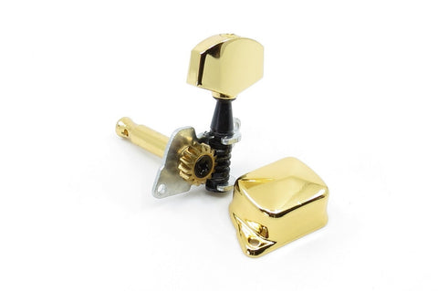 Image of Covered Gear Tuner Gold Right