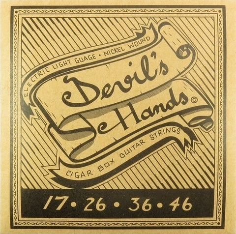 Devil's Hands Electric Light CBG Strings Nickel Wound