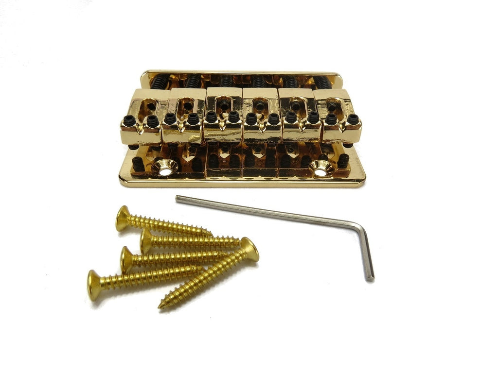 6-String Adjustable Gold Bridge