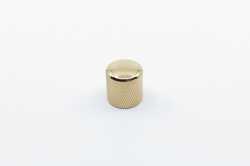 Knurled Dome Knob Gold