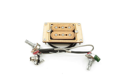 Image of Prewired 3-String Humbucker CBG  Maple Tone/Volume/Jack
