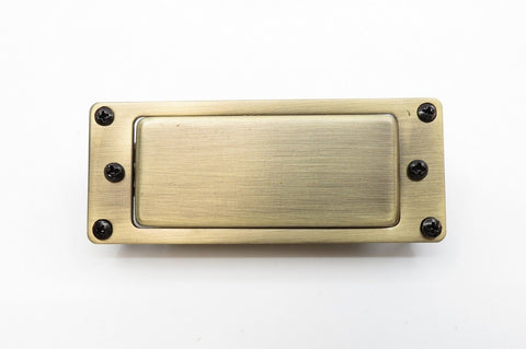 Image of Mini Humbucker Aged Brass
