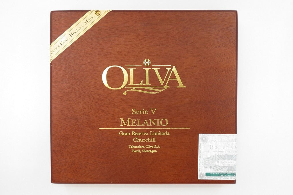 Empty Cigar Box Oliva Melanio