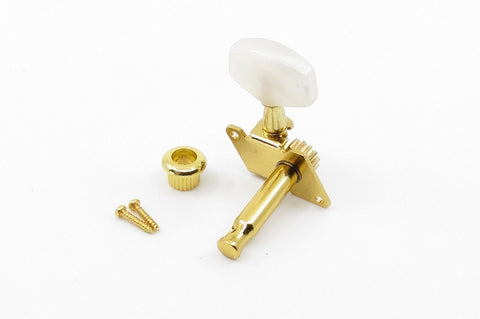Image of Open Gear Tuner Pearloid Gold Right
