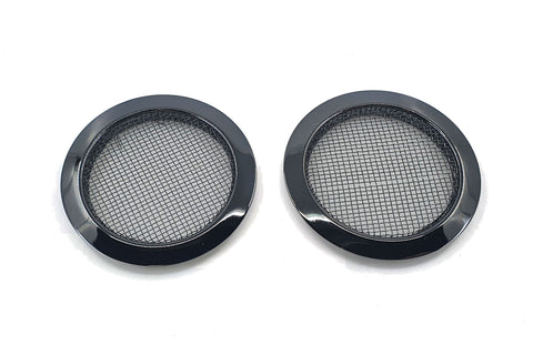 Screened Soundhole Covers Large Black 2pk