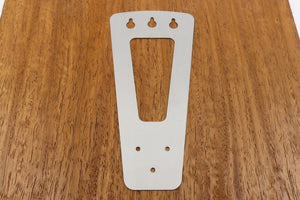 3 String Tailpiece Stainless Steel