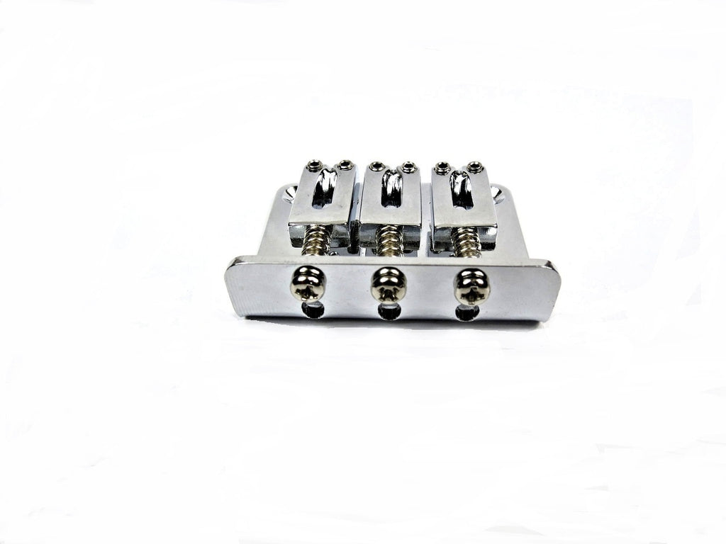 3-String Adjustable Chrome Bridge